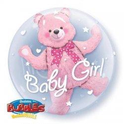 24 Inch/ 60 cm Boy Bear Double Bubble