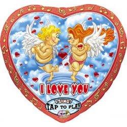Zingende ballon Love Cupido