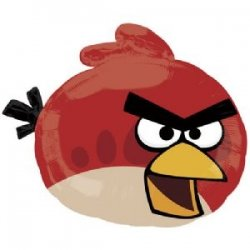 Folie Ballon Angry Bird Red