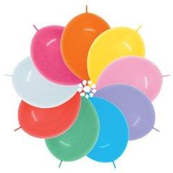 Sempertex Fashion Solid Assorted Doorknoopballonnen