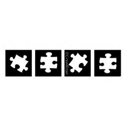 Glittertattoo Sjabloon Puzzel 4x