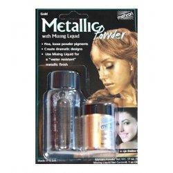 Mehron Metalic Powder Gold