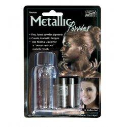 Mehron Metallic Powder Bronze