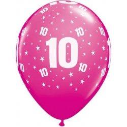 Ballon met 10