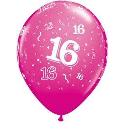 Ballon met 16