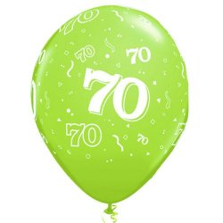 Ballon met 70