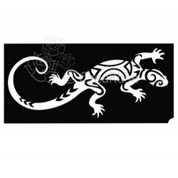 Glitter Tattoo Sjabloon Salamander