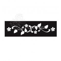 Glitter Tattoo Sjabloon Armband Bloemen 01