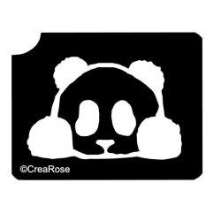 Glitter Tattoo Sjabloon Baby Panda B012