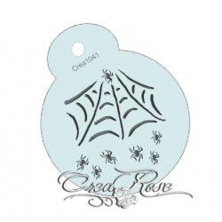Schmink Sjabloon Spinnenweb CREA1041