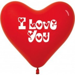 Sempertex Hart Ballon I Love You