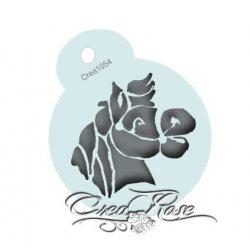 Schmink Sjabloon Paard Sint Crea1054