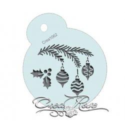 Schmink Sjabloon Kerst Tak Crea1062