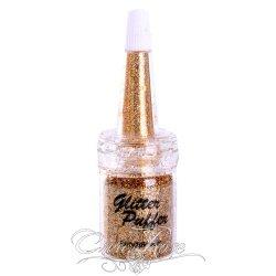 PXP Glitter Puffer Gold