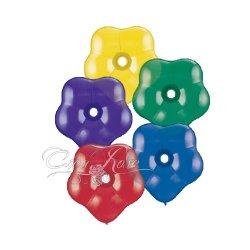 Qualatex Blossem, ballon in bloem vorm, assortiment met verschillende kleuren