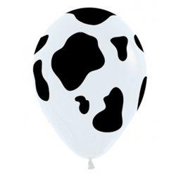 Sempertex Latex Ballon met Koeienprint