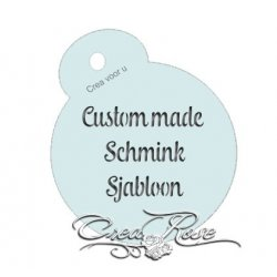 Crea Schmink Sjabloon Custom Made