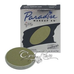 Mehron Paradise Makeup Refill Olive