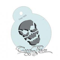 Schmink Sjabloon Skull CREA1043