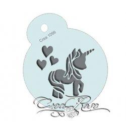 Schmink Sjabloon M Cute Unicorn CREA1099