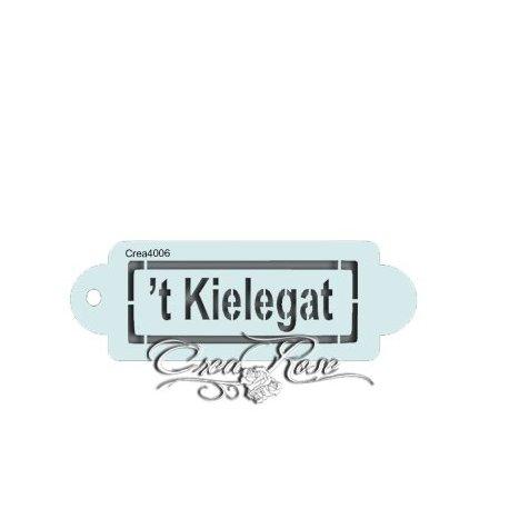 Schmink Sjabloon P 't Kielegat CREA4006