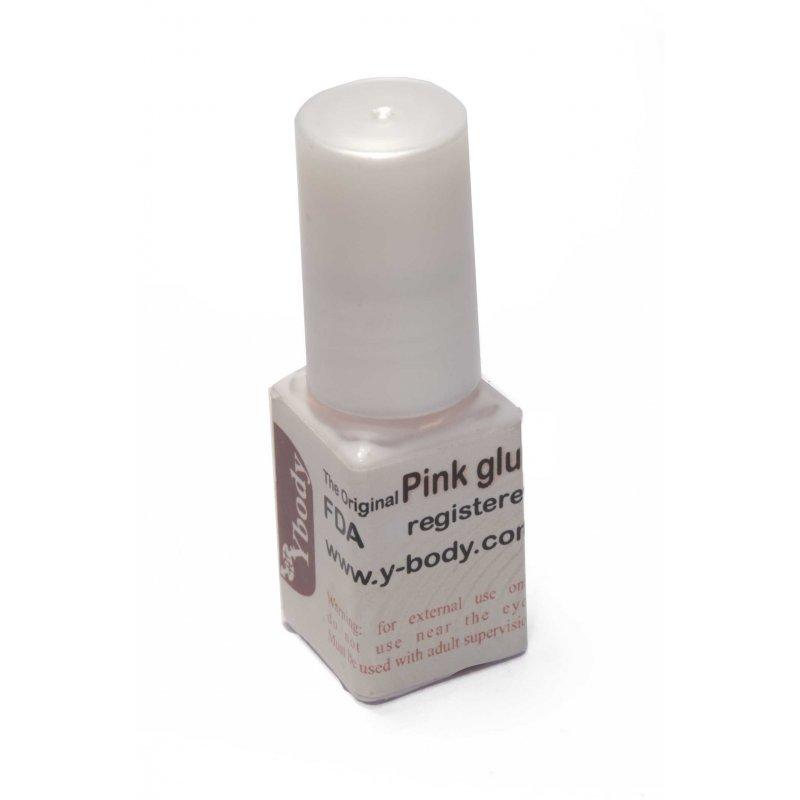 Glitter tattoo pink glue klein y body for Glitter tattoo glue