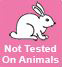 niet getest op dieren